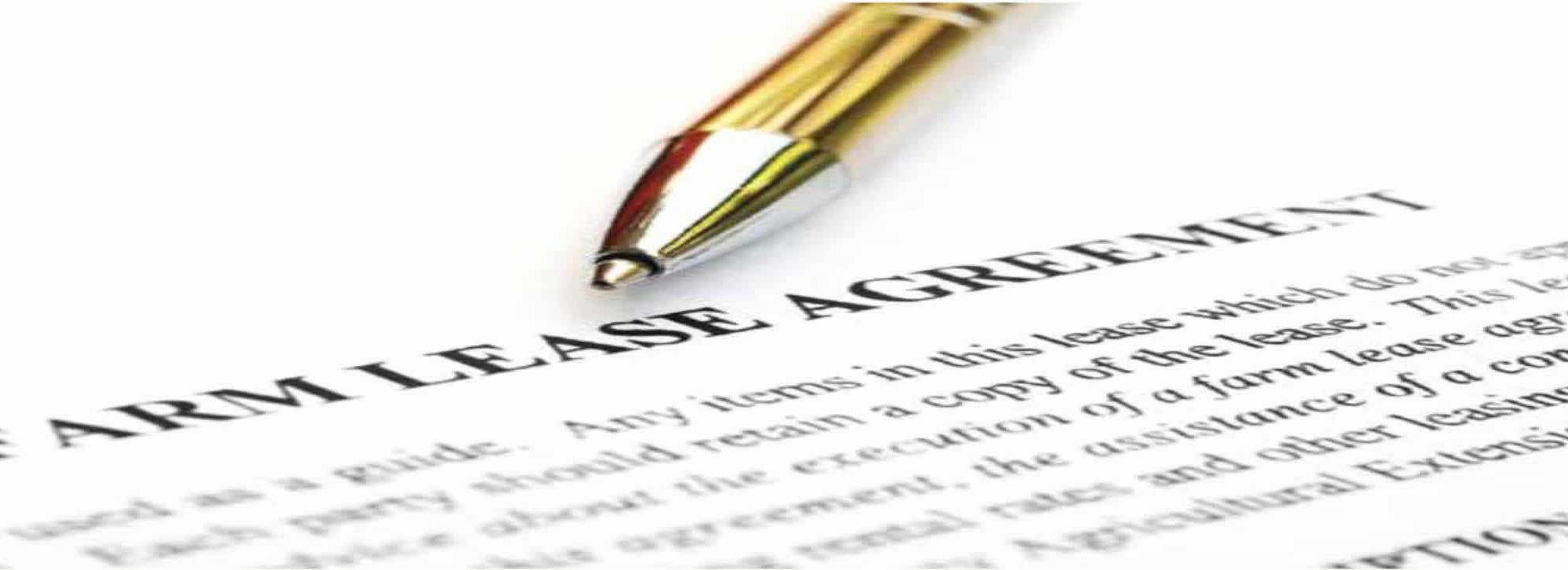 Farmland Lease Agreement document