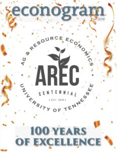 Cover of Fall 2019 Econogram